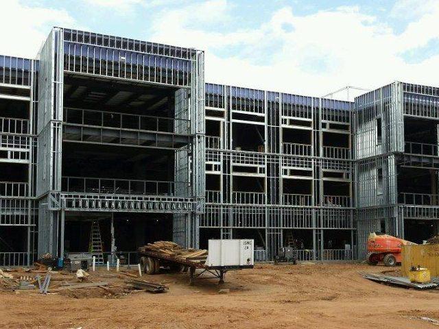 Asheville Middle School Construction