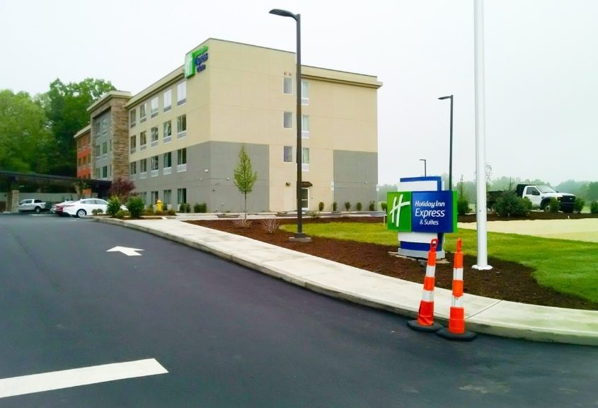 Holiday Inn Parking Lot